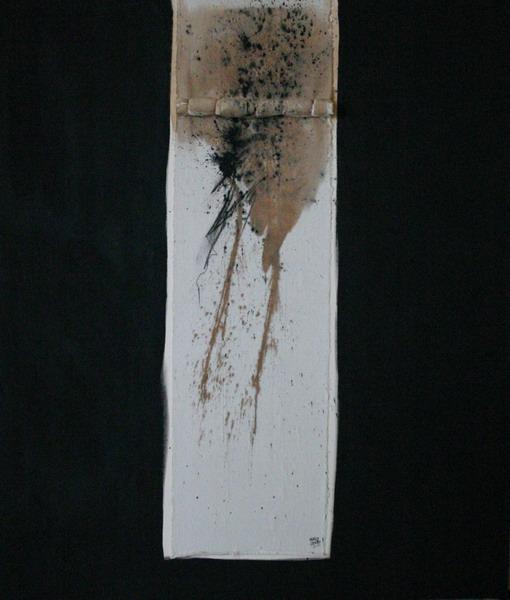DNA 14 170X144cm  (67X56 inch) tecnica mixta 2007